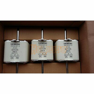 1PC NEW IN BOX 1PCS Siemens 3NC8 427-3 3NC8427-3 250A 660V 1 year warranty