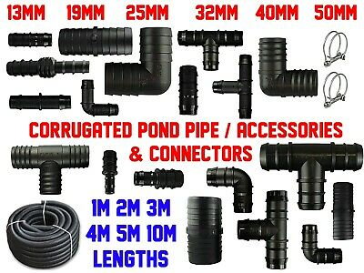 Smooth Bore Dust Extraction/ Suction Hose | 19-50Mm | 1-10M | With Connectors!