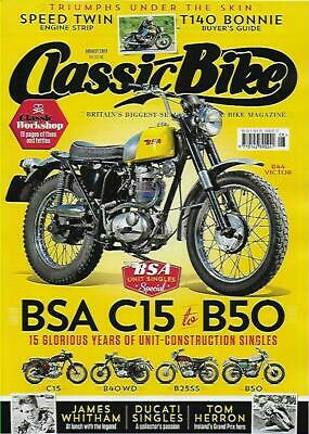 CLASSIC BIKE MAGAZINE-August 2019 Issue- (NEW)*Post included to UK/Europe/USA