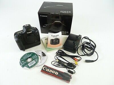 Canon 1D Mark 4 with a shutter count of 90,578 in original box with battery. EC.