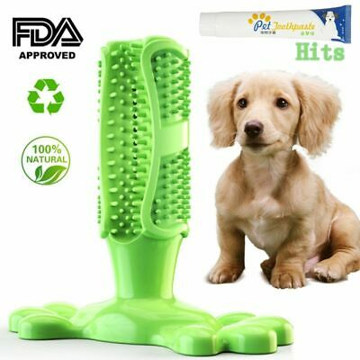 Dog Toothbrush Stick Pet Chew Toy Dog Dental Chews & Toothpaste Teeth Cleaning