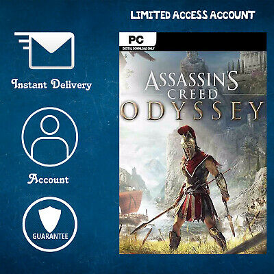 Assassins Creed Odyssey (PC) uPlay Account - Limited Access - Instant Shippping
