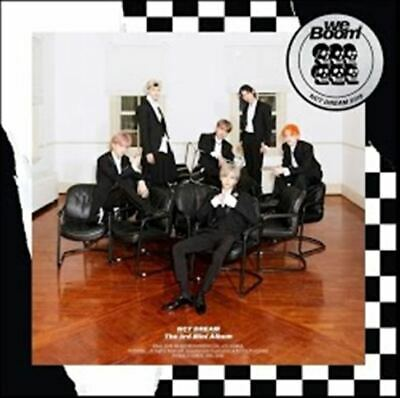 NCT DREAM: WE BOOM* CD+Full Package+Poster (SM) 3rd Mini Album K-POP