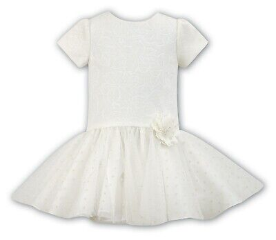 SARAH LOUISE Girls Ivory Party/Occasion Dress Age 2 BNWT  SALE