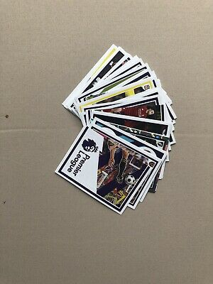 Panini Tabloid Premier League Stickers Lot Of 47 All Different Includes A Foil