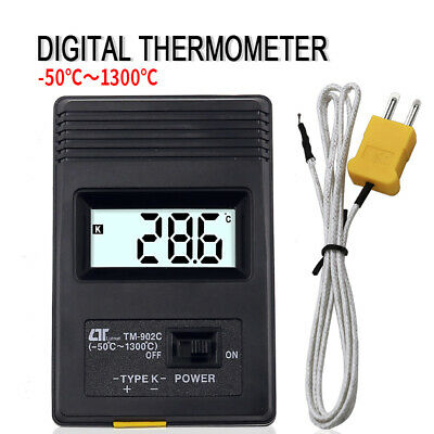 TM-902C K Type Digital Thermometer -50°C to 1300°C with Thermocouple Sensor
