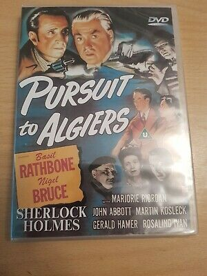 Sherlock Holmes - Pursuit To Algiers (DVD, 2003) New Still Sealed Free P&P