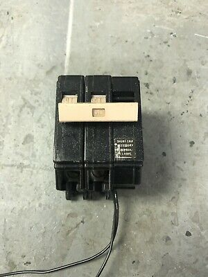 Cutler Hammer Circuit Breaker 50 Amp 240 2 Pole With 120V Shunt Ch250St