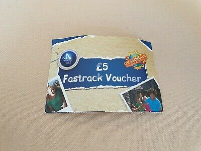 Merlin Pass Chessington World Of Adventures Fast Track Ticket X1