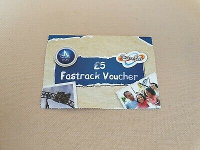 Merlin Pass Thorpe Park Fast Track Ticket X1