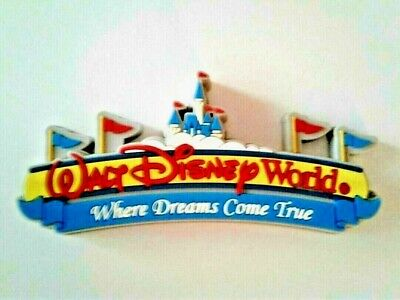 Walt Disney World Resort Icon Entrance Thick Magnet, NEW
