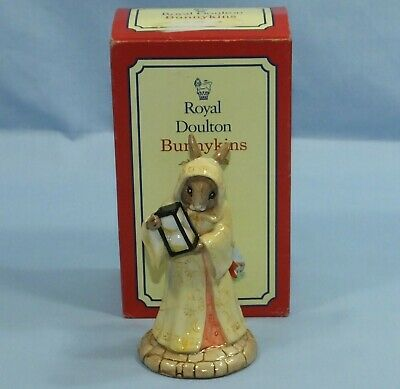 Royal Doulton Sands Of Time Db 229 Bunnykins Figurine Boxed Excellent