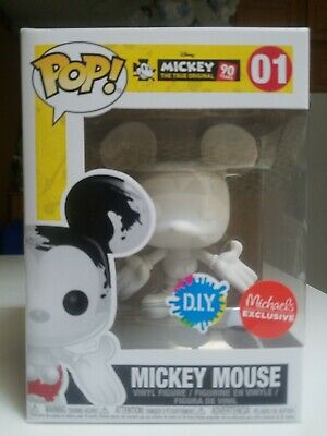 Funko PoP! DIY Mickey Mouse 90th Anniversary #01 Michaels Exclusive Disney NEW!