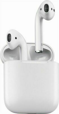 Right Ear Apple AirPods With Case  MMEF2AM/A Wireless Bluetooth Earbuds - White