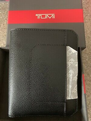 "NEW Tumi CAMDEN 11882 Black Passport Case 5.75""x4.5"" Cover Holder"