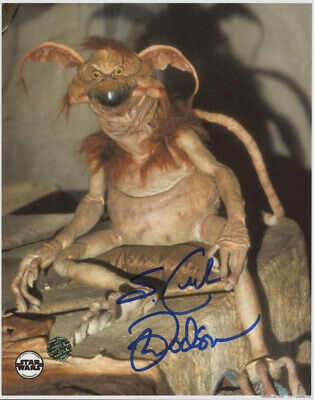 "Mark Dodson Signed ""Star Wars: Return of the Jedi"" 8x10 Photo Inscribed S. Crumb"