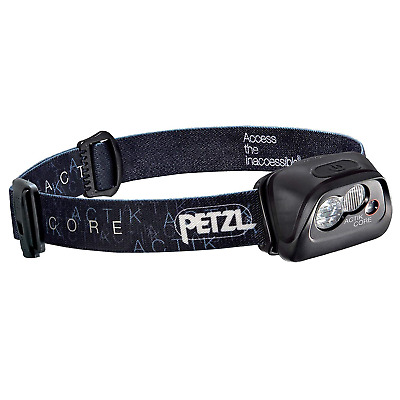 Petzl Unisex's Stirnlampe Actik Core Black, One Size