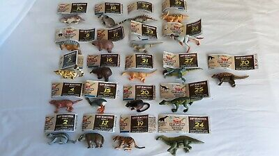 Yowie Lost Kingdom Series C with papers 21 toys