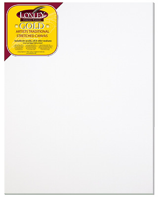 Loxley Gold 36 x 28-inch 91 x 71 cm 18 mm Traditional Depth Stretched Artist