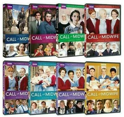 Call the Midwife: Complete Series Seasons 1-8 (23-Disc DVD Set) 1,2,3,4,5,6,7,8
