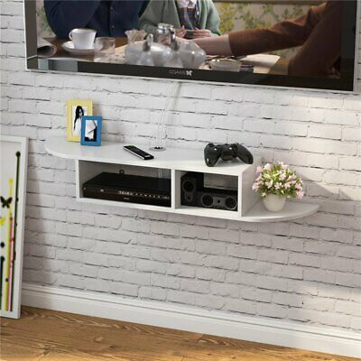 110X24X18CM Floating Wall Mount Shelf Cube Sky Box DVD HIFI Unit Shelf Shelves
