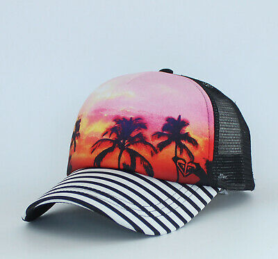 New Roxy Dig This Womens Local Surf Squad Trucker Snapback Cap Hat