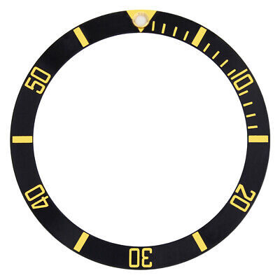 New Bezel Insert For 40Mm Invicta 8926Ob 8928 9937 Pro Diver Black Gold Font