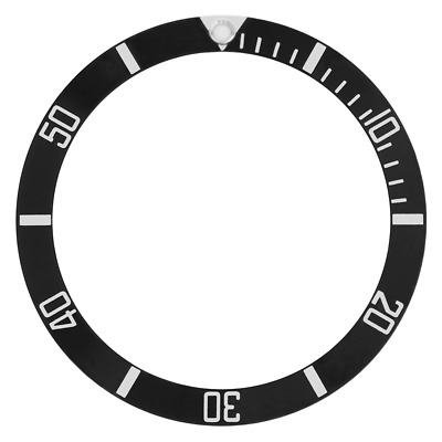 New Bezel Insert For 40Mm Invicta 8926Ob  8926A 8928 9937 Pro Diver Watch Black