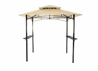 Bentley 8 x 5 Ft Steel Gazebo Beige - customer returned, unwanted