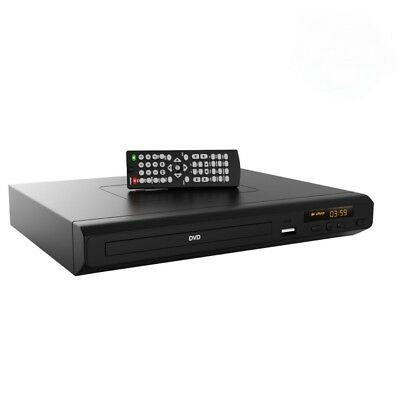 dvd player with HDMI, COMPOSITE & USB & remote Region Free Pays all discs