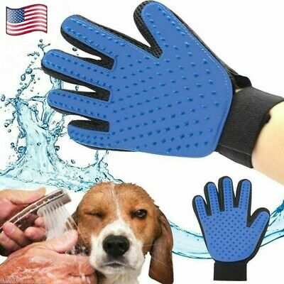 Magic Grooming Brush Glove For Pet Dog Cat Massage Hair Removal Groomer Cleaning