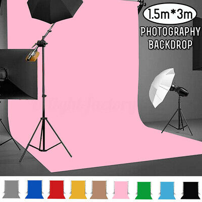 5x10FT Solid Color Cotton Photography Backdrop  Studio Background Photo