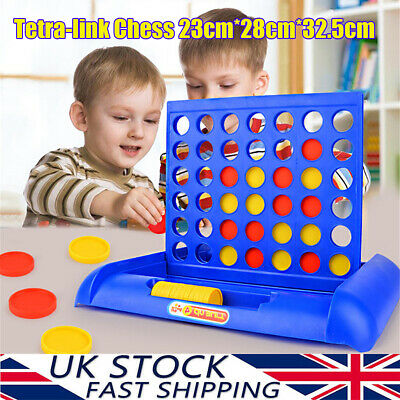 Giant Connect Four 4 in A Row Garden Outdoor Game Kids Family Fun Toy Big Size