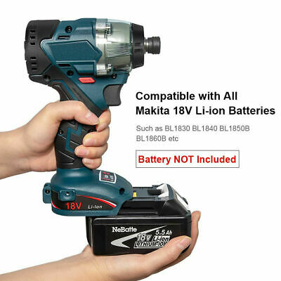 18V Cordless Brushless Impact Driver FOR Makita DTD154Z Li-ion Body Only B9X8L