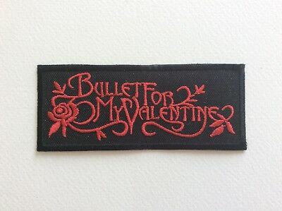 M114 // Ecusson Patch Aufnaher Toppa / Neuf / Bullet For My Valentine 9,5*4 Cm
