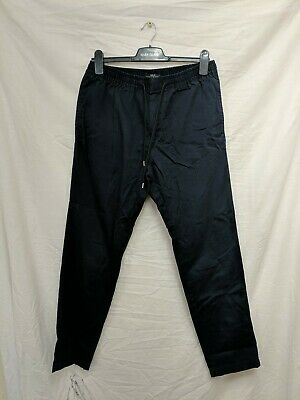 Next Chino Jogging Bottoms Size 32R Navy Blue #94F2