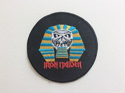 M119 // Ecusson Patch Aufnaher Toppa / Neuf / Iron Maiden Sphinx 7,8 Cm