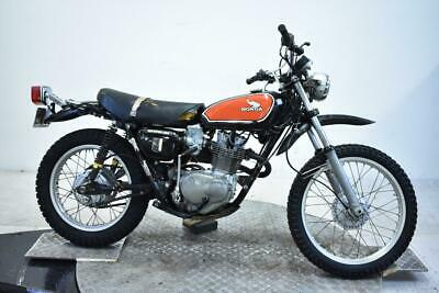 1975 Honda XL250K2 Unregistered US Import Barn Find Classic Restoration Project