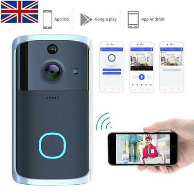M7 720P Smart Wifi Video Doorbell Camera Visual Intercom With Chime Night-V F2I5