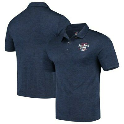 Majestic Navy 2019 MLB All-Star Game Striated Polo