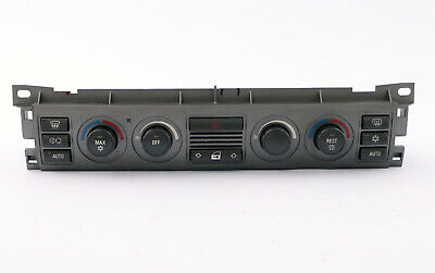BMW 7 Series E65 Automatic Air Conditioning Climate Control Panel Switch Unit