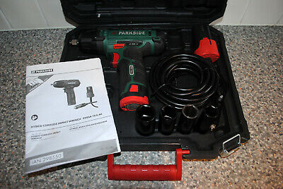 PARKSIDE PHSSA 12 Li A1 Hybrid Cordless Impact Wrench - 12V Lead (No Charger)
