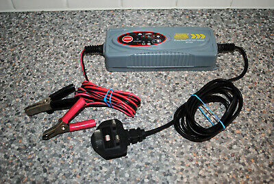 MAYPOLE MP7424 - 3.8 amp 6-12v Intelligent Smart Electronic Battery Charger