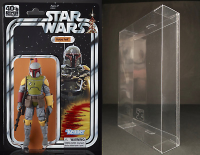 Star Wars 40th Anniversary Boba Fett SDCC 6 Inch Figure Protective Display Case