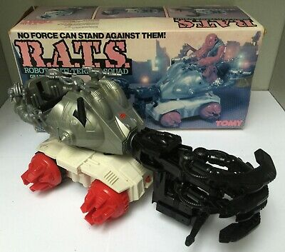 Grapplor R.A.T.S. Robot Anti Terror Squad - Tomy 5305 - 1980's - BE+