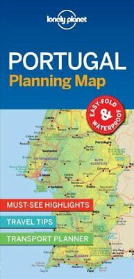 Lonely Planet Portugal Planning Map by Lonely Planet 9781787014534 | Brand New