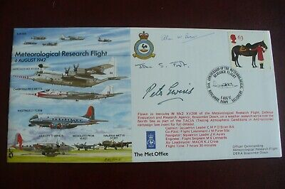 Set Of Six Signed Historic Aircraft Covers