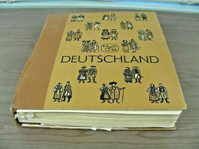 GERMANY, Reich, Zones, Occupation, Excellent Stamp Collection hinged/mounted in