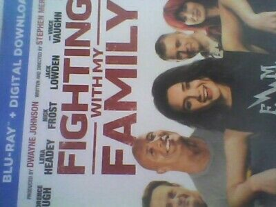 FIGHTING WITH MY FAMILY (Blu-ray + UV) new sealed with slip case free post