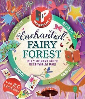 Paperplay - Enchanted Fairy Forest by Gemma Barder 9781783123568 | Brand New